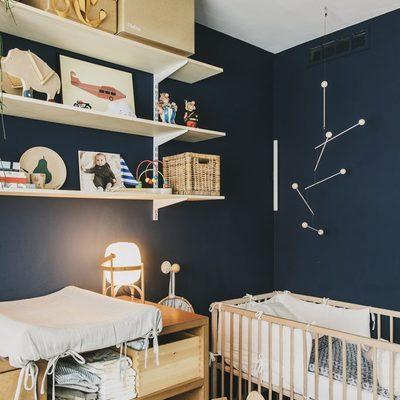 Dormitorio infantil cuna