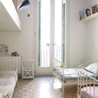 Un apartamento clásico modernizado