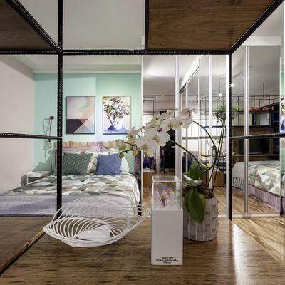 Camufla tus muebles con su entorno