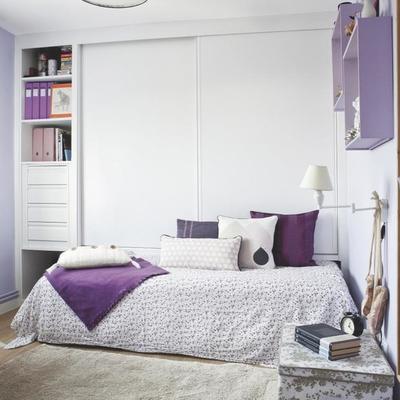 Ideas de piso peque o para inspirarte habitissimo - Dormitorio malva ...