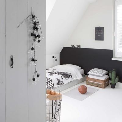Dulzura y robustez en un bonito apartamento escandinavo