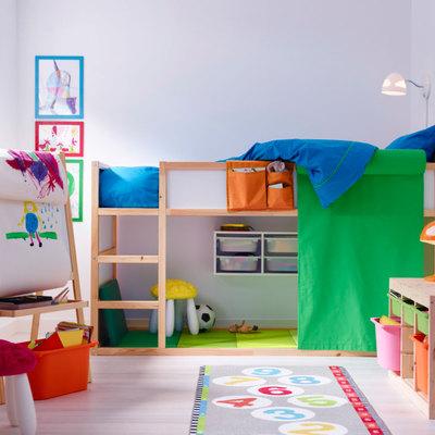 Ideas y fotos de cajas para inspirarte habitissimo - Ikea dormitorio ninos ...