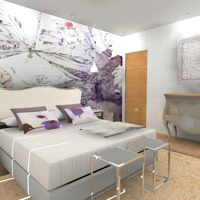 Proyecto decoración habitaciones vivienda unifamiliar