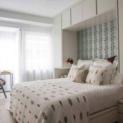 Ideas y fotos de papel pintado cabecero para inspirarte - Papel pintado dormitorio principal ...