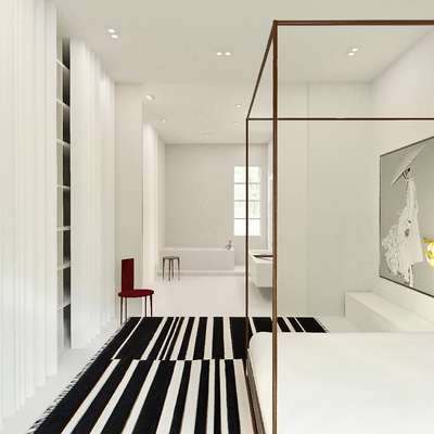 Diseño de Interiores - Dormitorio y Baño Ensuite