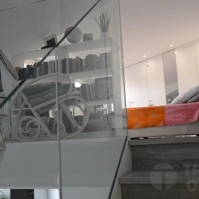 Renovando un ático duplex en barrio Arganzuela de Madrid