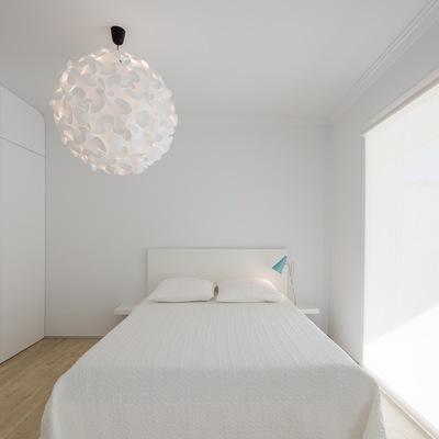 Dormitorio puro blanco