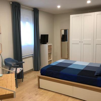 Dormitorio zona estudio