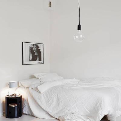 ¿Cómo triunfar con un dormitorio blanco? ¡Muy fácil!