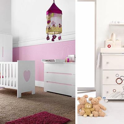 dormitorios infantiles cambiadores