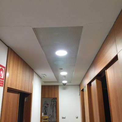 Cambio iluminación LED oficina en Alicante