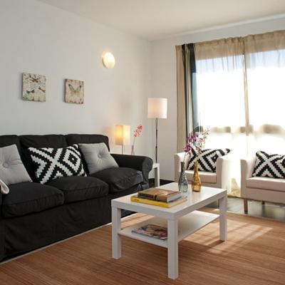 Un piso con decoración low cost al que se le dio una segunda oportunidad