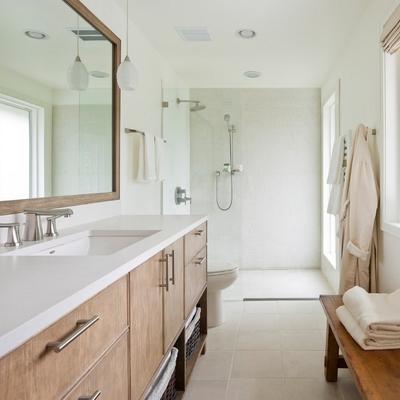 ducha baño alargado
