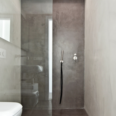 ducha microcemento