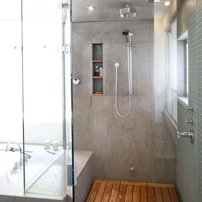Ideas y fotos de plato ducha ras suelo para inspirarte - Suelos de ducha ...