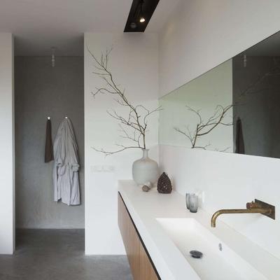 Ideas y fotos de espejo mural ba o para inspirarte - Duchas a ras de suelo ...