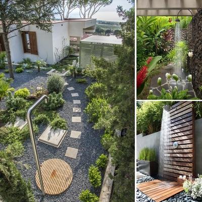 ¡Disfruta de la ducha en tu jardín!