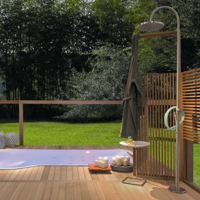ideas y fotos de ducha piscina para inspirarte habitissimo. Black Bedroom Furniture Sets. Home Design Ideas