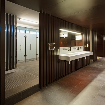 duchas y zona de aseo
