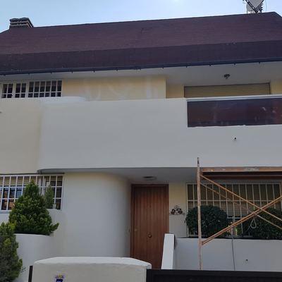 Rehabilitación de fachada de casa