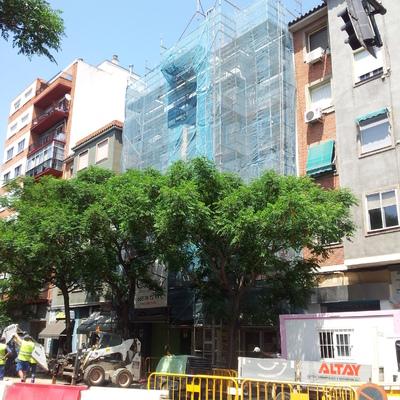 Proyecto de rehabilitación de fachada de edificio de viviendas en calle Franco y López (Zaragoza)