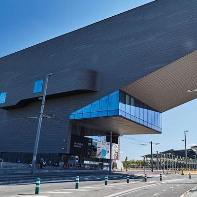 Edificio Museo del Diseño en Barcelona