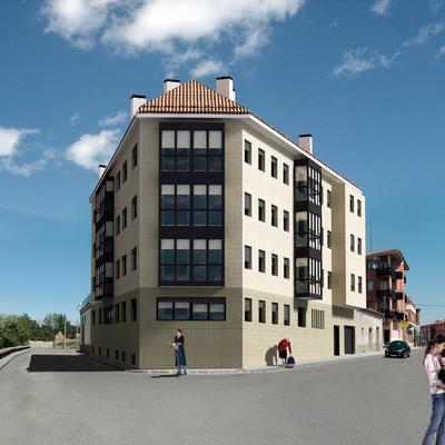 Edificio de 11 viviendas en Peñafiel