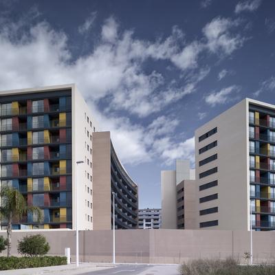 Edificio de 163 viviendas en Sagunto.