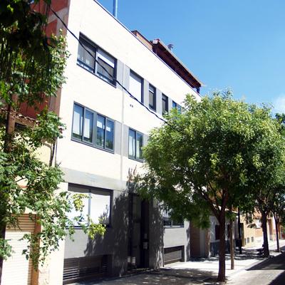 Edificio de pisos construido en Zaragoza