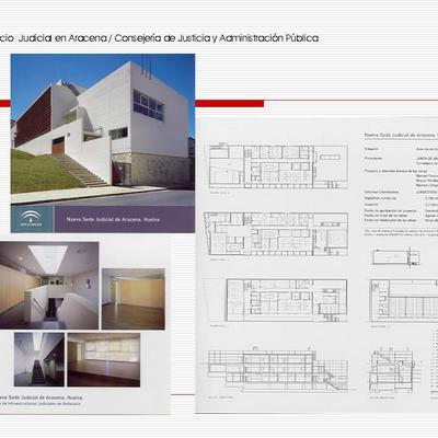 Edificio  Judicial en Aracena,  Huelva