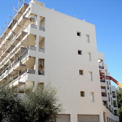Rehabilitación fachada. Sans Arquitectes