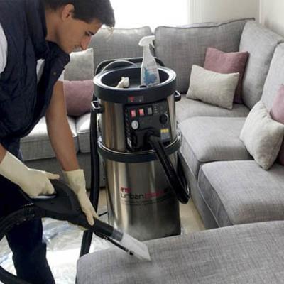 Limpieza y desinfección de sofá y sillón