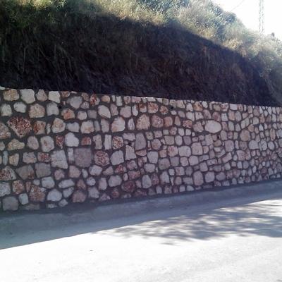 Bustos E Hijos - Muros Mampostería Carretera Cómpeta