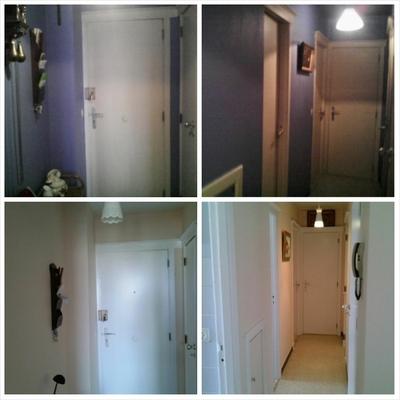 """Pintura y renovación completa de las paredes y colocación de parquet tipo """"click"""""""