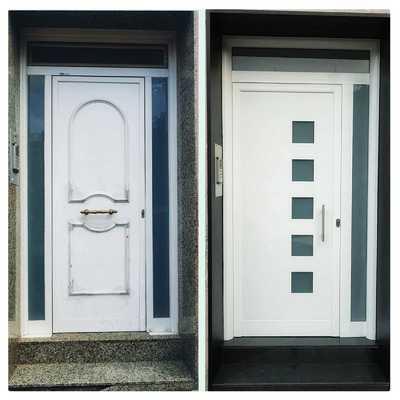 Cambio de puerta de Entrada