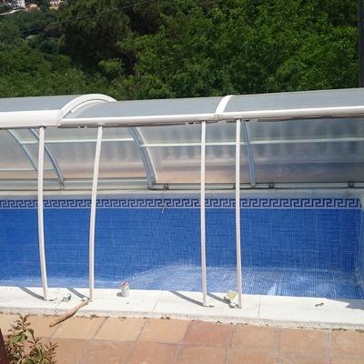 Rehabilitación de piscina de fibra de vidrio