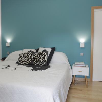 Sorpréndete con el cambio de este moderno apartamento en Chamberí (Madrid)