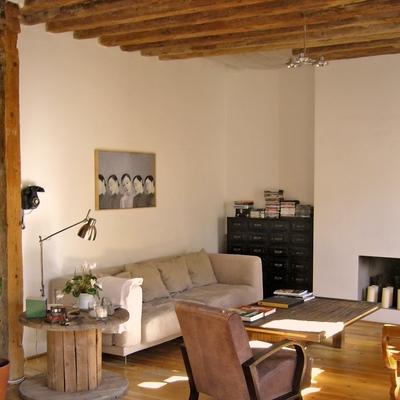 Equilibrio entre tradición y modernidad en este loft en Malasaña