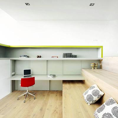 Una casa luminosa y sin separaciones