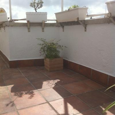 Pintura de terraza exterior