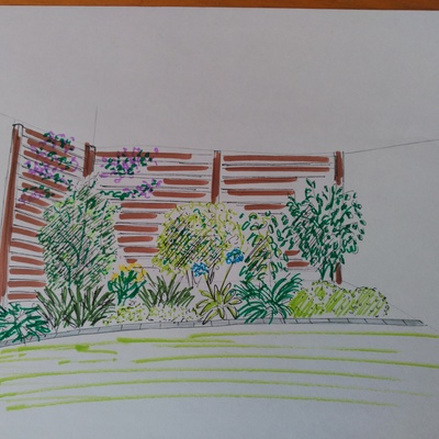 Un petit jardi a Tarragona