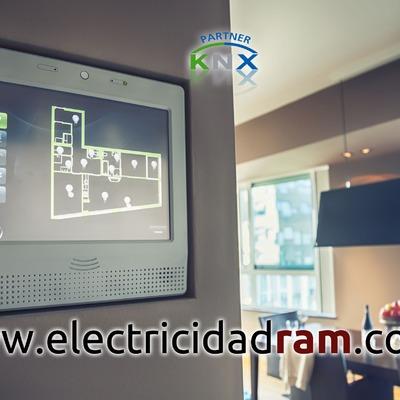 Electricidad, domótica e iluminación LED. KNX Partner