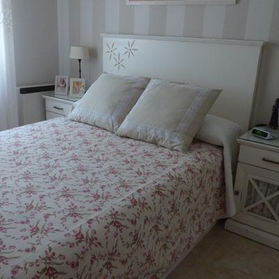 Dormitorio Blanco Envejecido