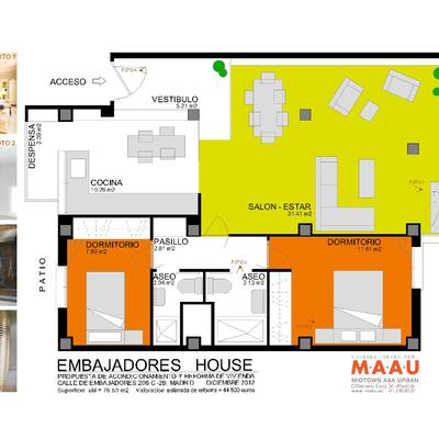 Embajadores House