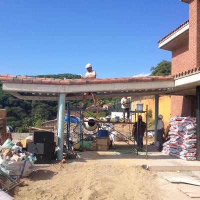 Construcción de casa en el Masnou de Barcelona