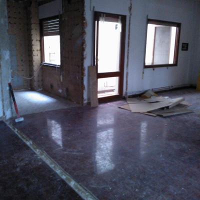 Reforma integral de piso a loft en Zaragora