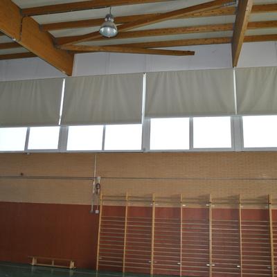 Conversión de pabellón Deportivo en un salón de actos