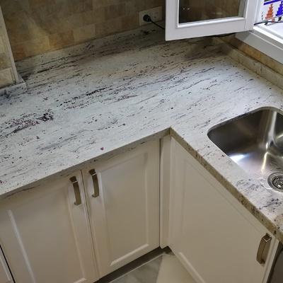 Presupuesto cocinas granito online habitissimo - Encimera marmol precio ...