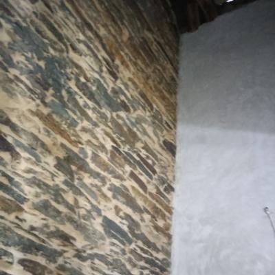 Revocado de paredes de piedra