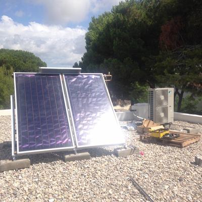 Aerotermia + Energía Solar + Suelo radiante